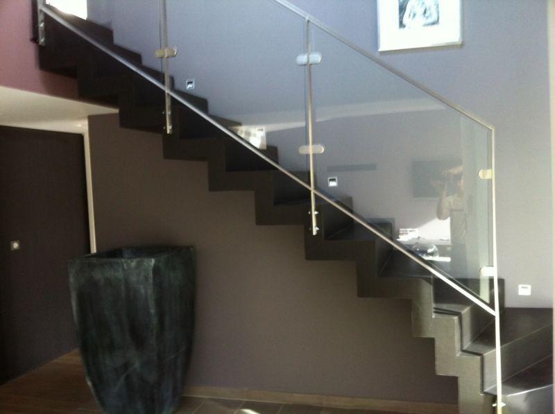 Conception Fabrication Et Pose D Un Escalier Moderne Sur